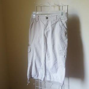 Eddie Bauer Khaki Capris Pants
